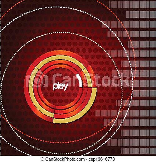 musical background - csp13616773