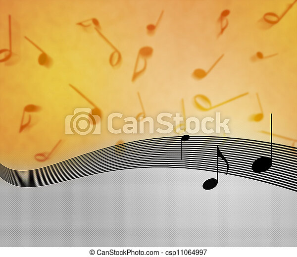 Musical Background - csp11064997