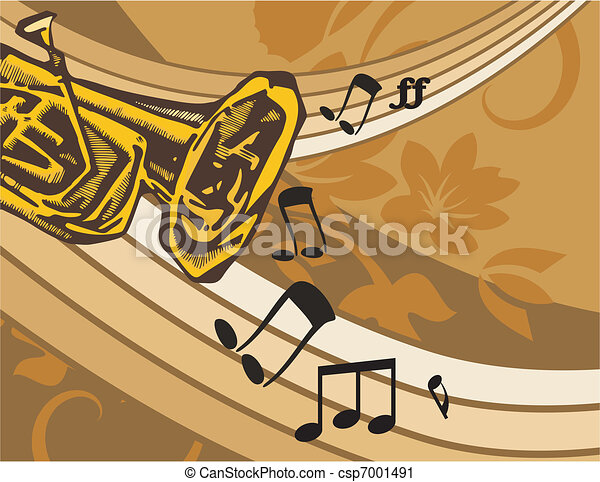Musical Background - csp7001491