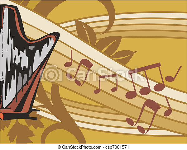 Musical Background - csp7001571