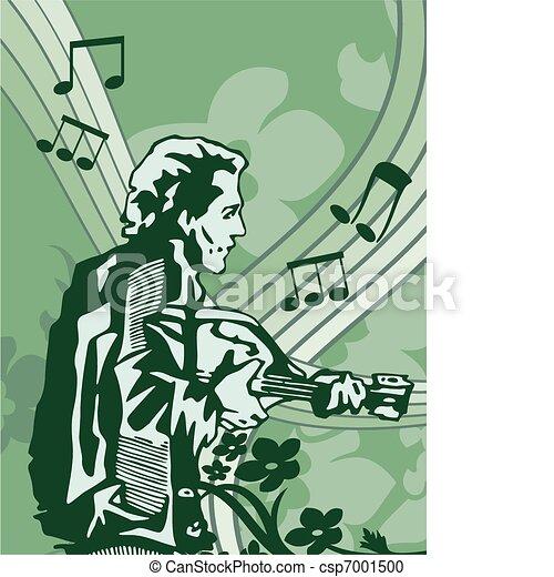 Musical Background - csp7001500