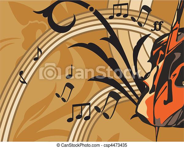 Musical - csp4473435