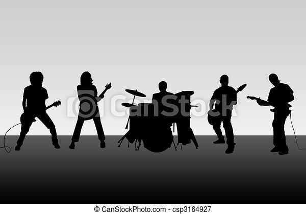 Musical group - csp3164927