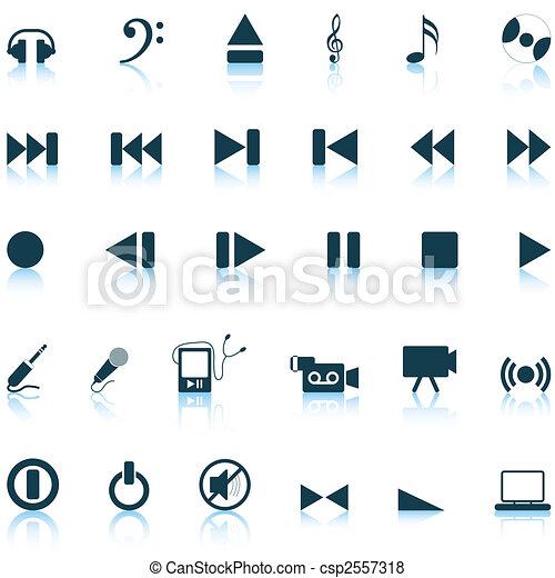 musical icons set - csp2557318