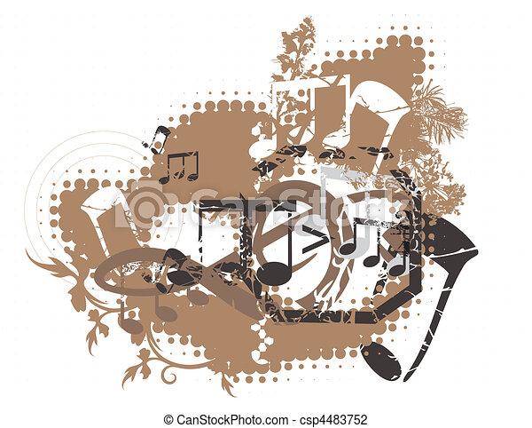 Musical - csp4483752