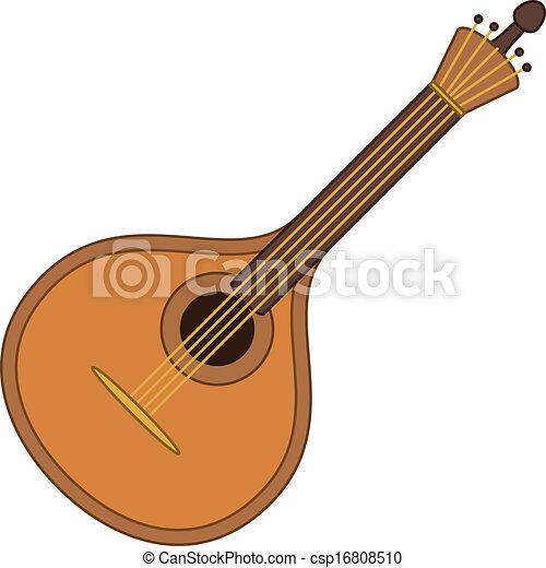 Musical instrument mandolin - csp16808510