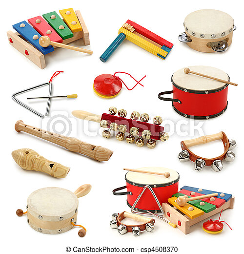 Musical instruments collection - csp4508370