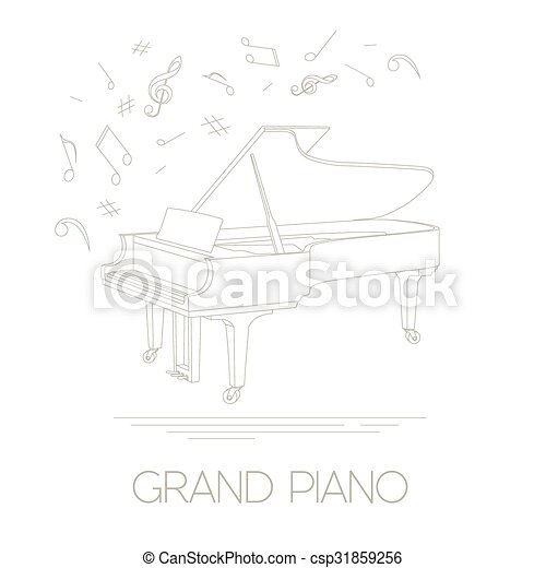 musical instruments grand piano musical instruments graphic