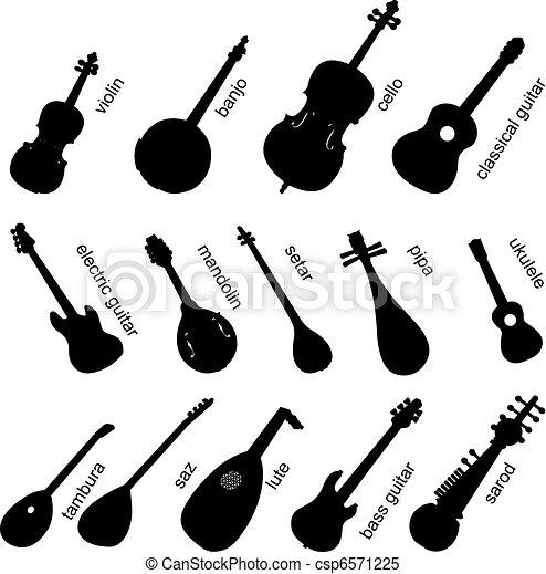 Musical Instruments Set No.1. - csp6571225