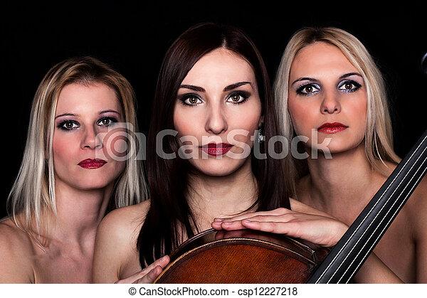 Musical Trio! - csp12227218