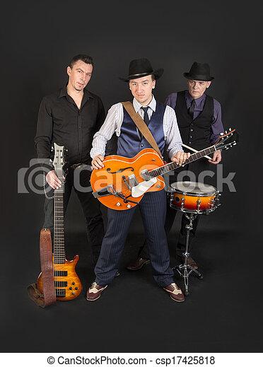 musical trio - csp17425818