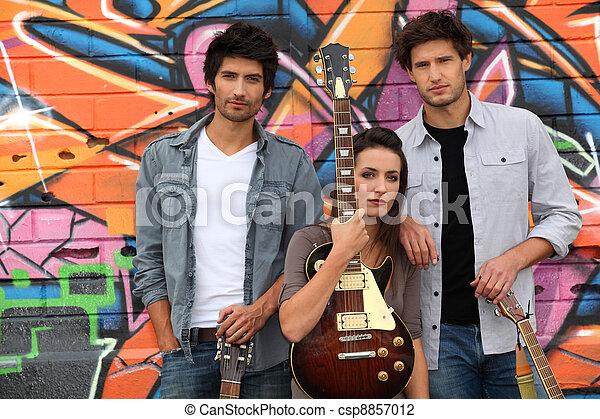 musical trio - csp8857012
