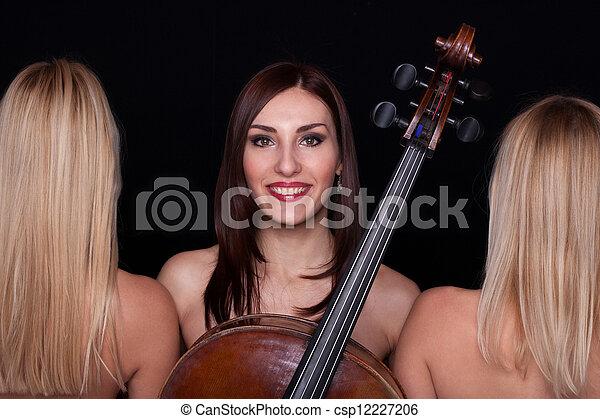 Musical Trio! - csp12227206