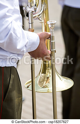 Musician of a military band - csp18207627