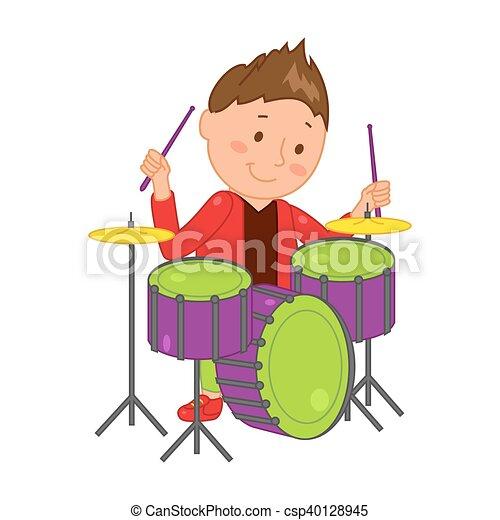 Musicien illustration dessin anim vecteur musique - Dessin musicien ...