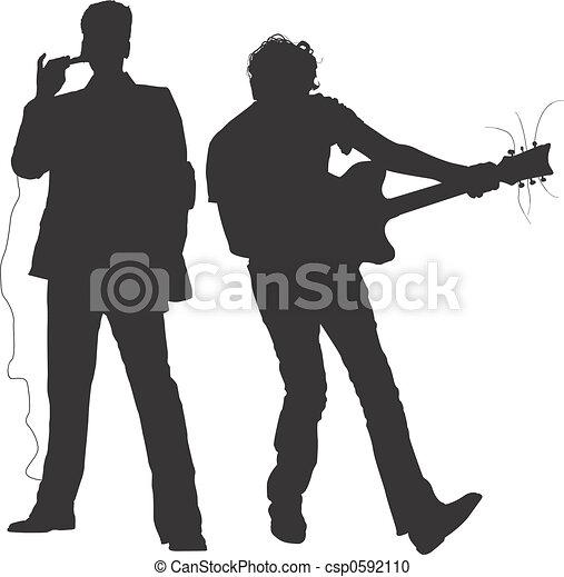 musiker, -, concert - csp0592110