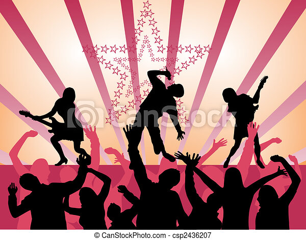 musique, -, événement - csp2436207