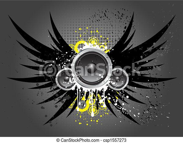 musique, grunge - csp1557273