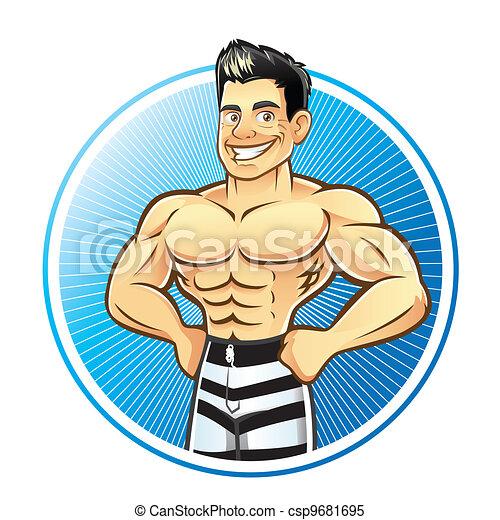 Muskel Stock Illustrationen. 72.430 Muskel Clipart Bilder und ...