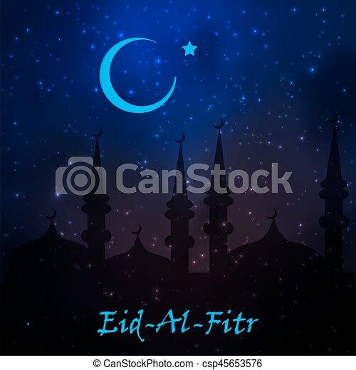 Good Today Eid Al-Fitr Greeting - muslim-community-festival-eid-al-fitr-image_csp45653576  2018_863159 .jpg