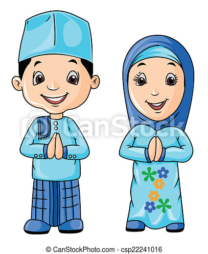 muslim day rh canstockphoto com islamic clipart images islamic clipart border