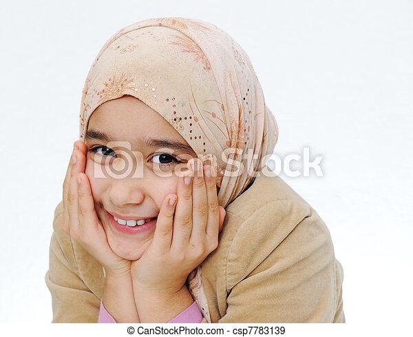 Muslim Girl - csp7783139