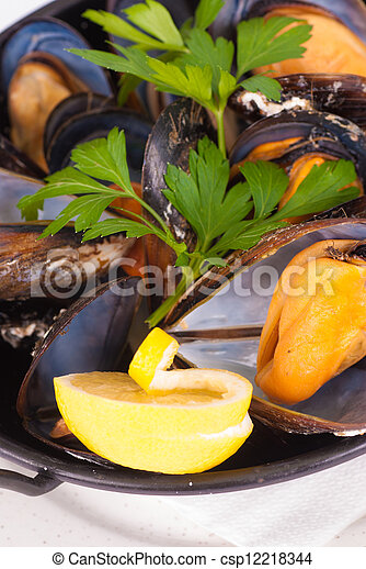Mussels - csp12218344