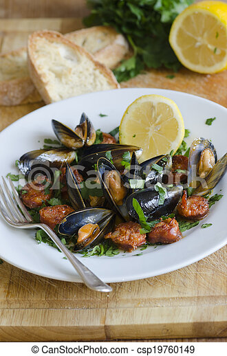 Mussels - csp19760149