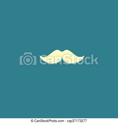 mustaches vector icon - csp37173277