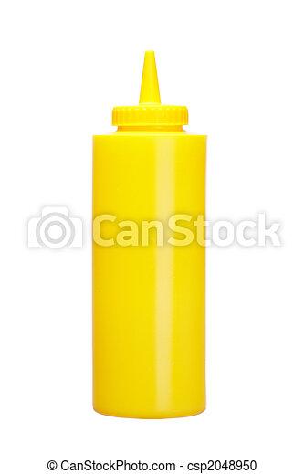 Mustard bottle - csp2048950