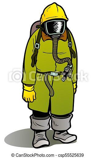 Mustard Gas Protective Gear