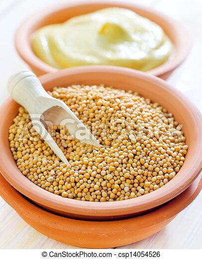 mustard - csp14054526