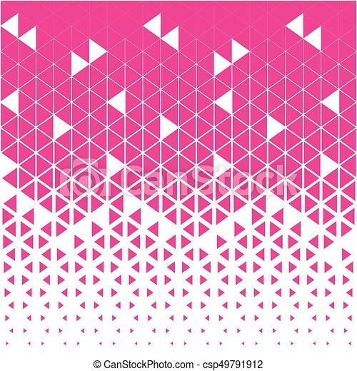 Muster Abstrakt Dreieck Polygon