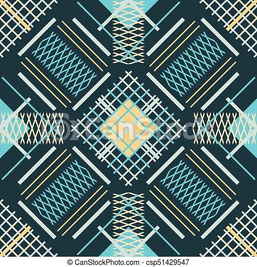 Muster Abstrakt Linien Seamless Parallel Kreuzen
