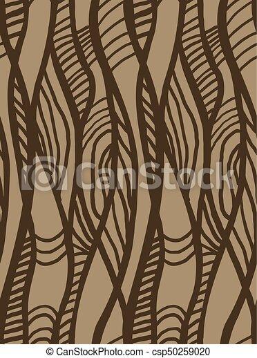 Muster Abstrakt Schlangenlinie Geometrisch