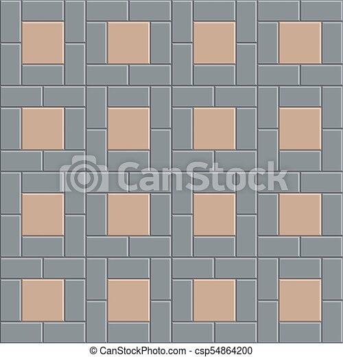 Muster Cray Block Boden Boden Muster Seamless Abbildung