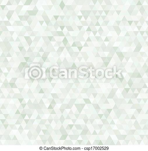muster, geometrisch, bunte, dreiecke, seamless - csp17002529