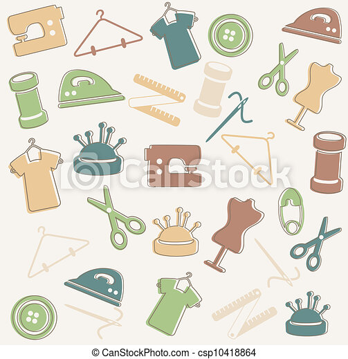 Muster, nähen Clipart Vektor - Suchen Sie nach Zeichnungen und ...