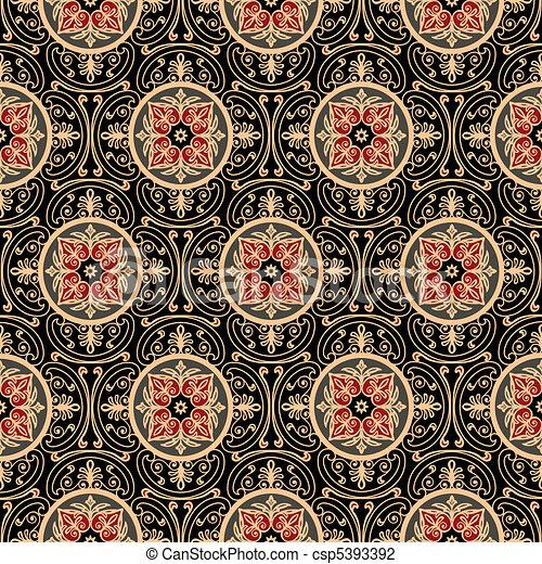 Muster orientalische antikes voll m gen grafik for Tapete orientalisch