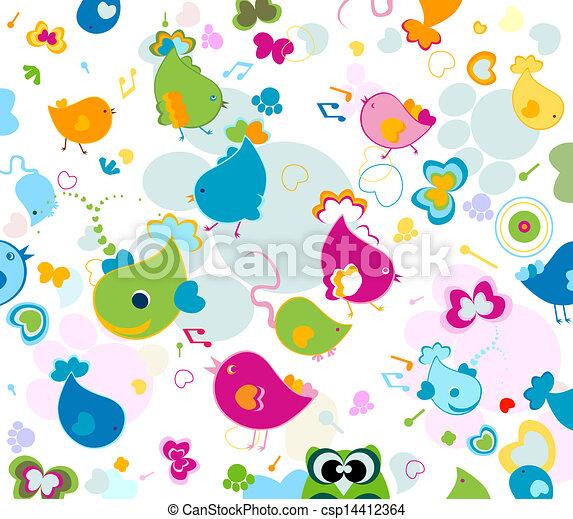 Leichtes Muster - csp14412364