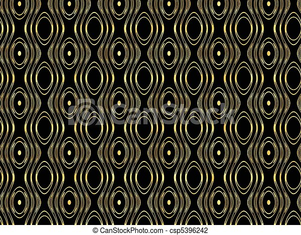 muster seamless gold kreise gold consist tapete seamless muster schwarz. Black Bedroom Furniture Sets. Home Design Ideas