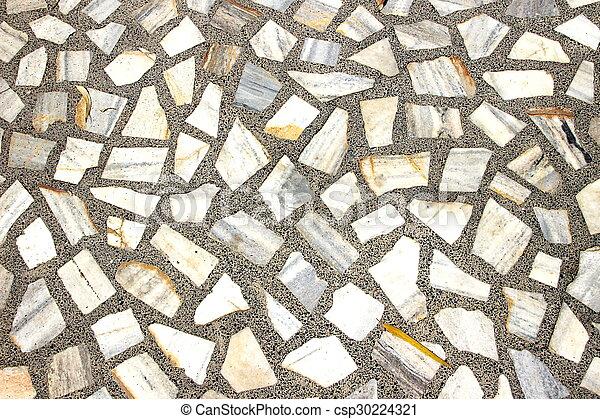 Fußboden Stein muster stein mosaik boden stein hemmt fussboden stockfoto