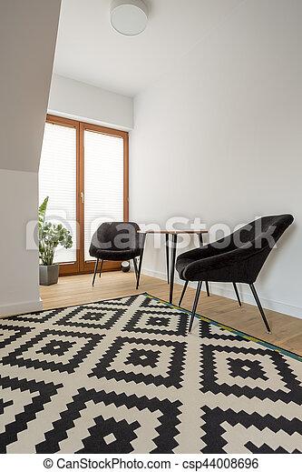 Muster Zimmer Teppich Teppich Zimmer Muster Schwarz