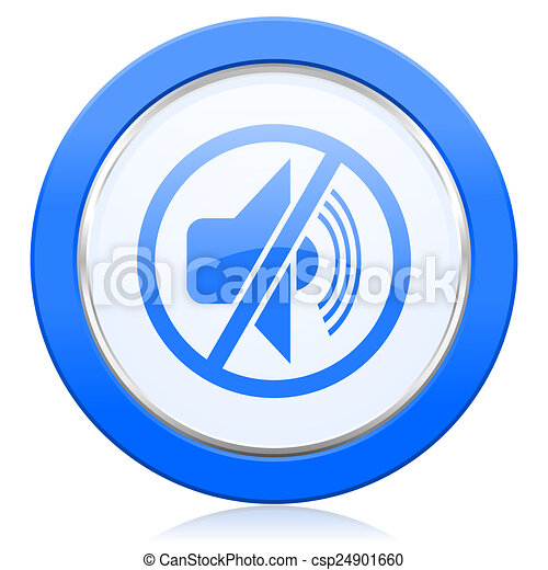 mute icon silence sign stock illustration - search clip art