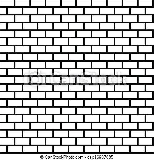 muur baksteen seamless vector eps10 illustration