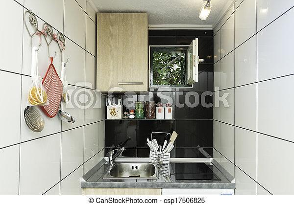 Muur Keuken Kleine : Muur kleine tegels witte keuken
