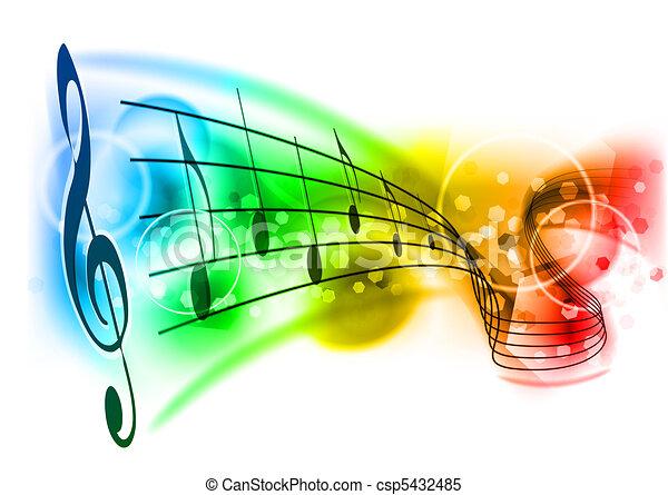 muziek - csp5432485