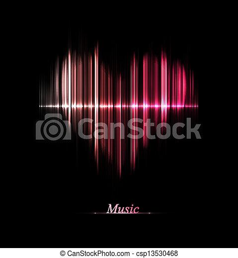 muziek, liefde - csp13530468