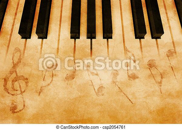 muziek - csp2054761