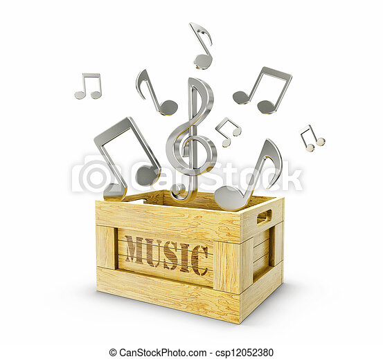 muziek - csp12052380